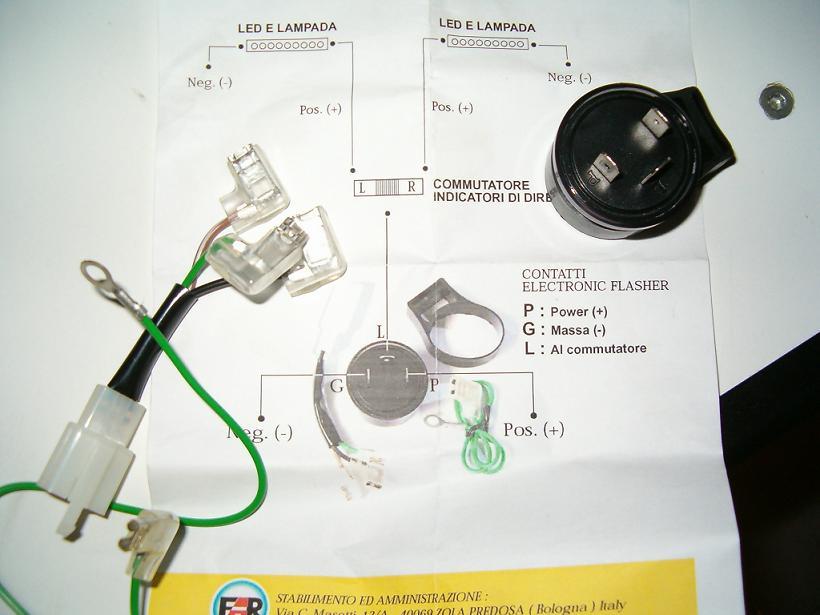 Schema Elettrico Led : Impianto elettrico frecce a led far dove si monta questo dmc